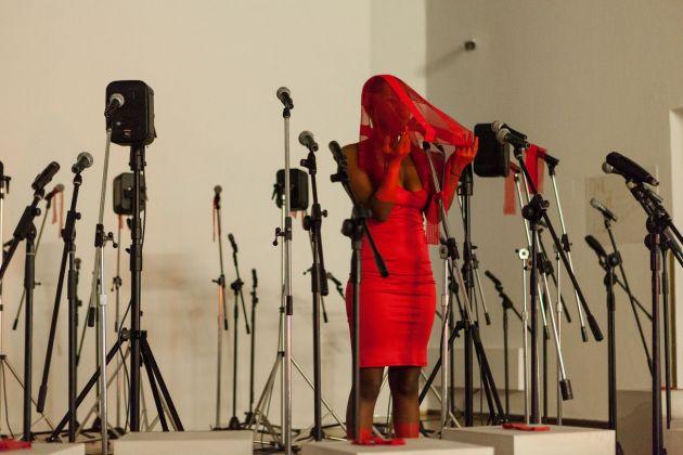 Buhlebezwe Siwani, uKhongolose. Performance at PAC, Milano 2017. Photo Nico Covre
