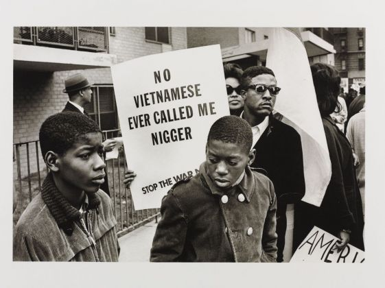 Builder Levy, Harlem Peace March (New York City, 1967), 1967 © Victoria and Albert Museum