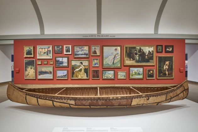 Canadian and Indigenous Art. From Time Immemorial to 1967. Installation view at National Gallery of Canada, Ottawa, giugno 2017. Photo NGC