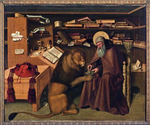 Carta Bianca. Capodimonte Imaginaire. Gianfranco D'Amato. Colantonio, San Girolamo nello studio, 1445 ca. Photo © Luciano Romano