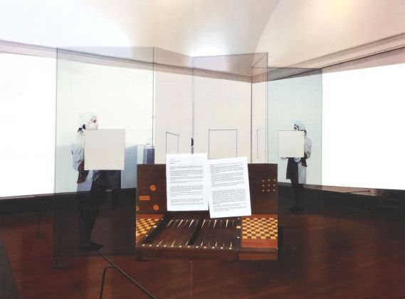 "Carta Bianca. Capodimonte Imaginaire. Giulio Paolini, Studio per l'esposizione ""Carta bianca"", 2017"