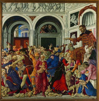 Carta Bianca. Capodimonte Imaginaire. Mariella Pandolfi. Matteo di Giovanni, Strage degli innocenti, 1488-89. Photo © Luciano Romano