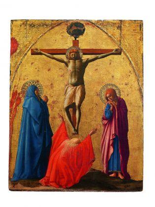 Carta Bianca. Capodimonte Imaginaire. Riccardo Muti. Masaccio, Crocifissione, 1426. Photo © Luciano Romano