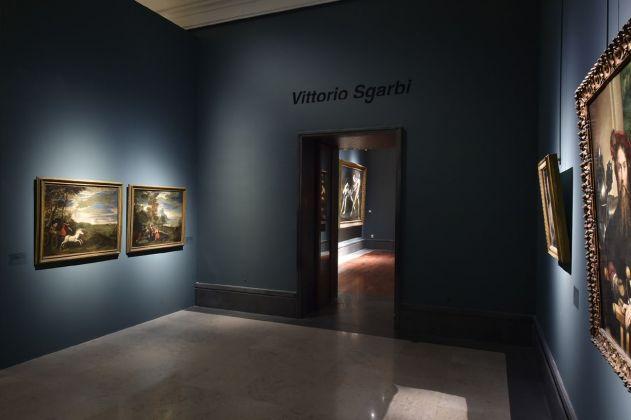 Carta Bianca. Capodimonte Imaginaire. Vittorio Sgarbi. Installation view. Photo Francesco Squeglia