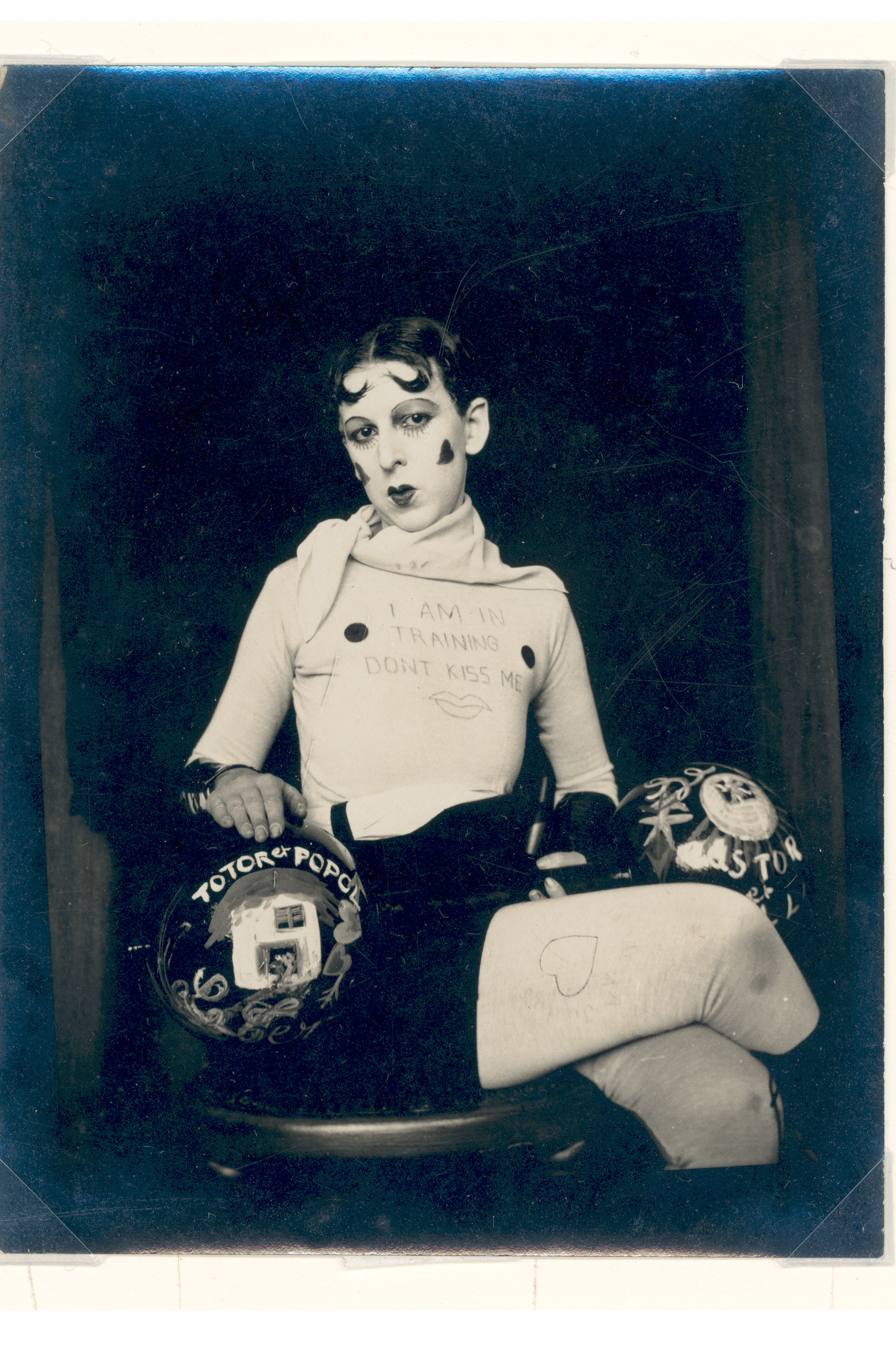 Claude Cahun, I am in training, don't kiss me, 1927, Courtesy and copyright Jersey Heritage
