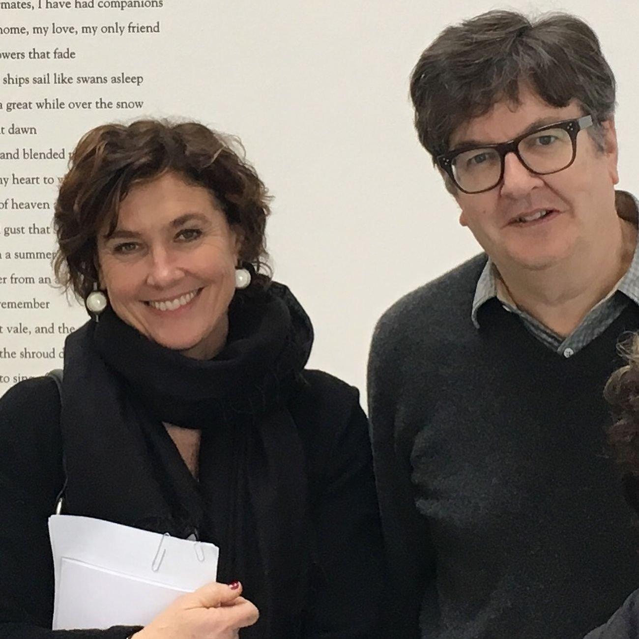Cristiana Perrella e Mark Wallinger. Centro Pecci, Prato 2018