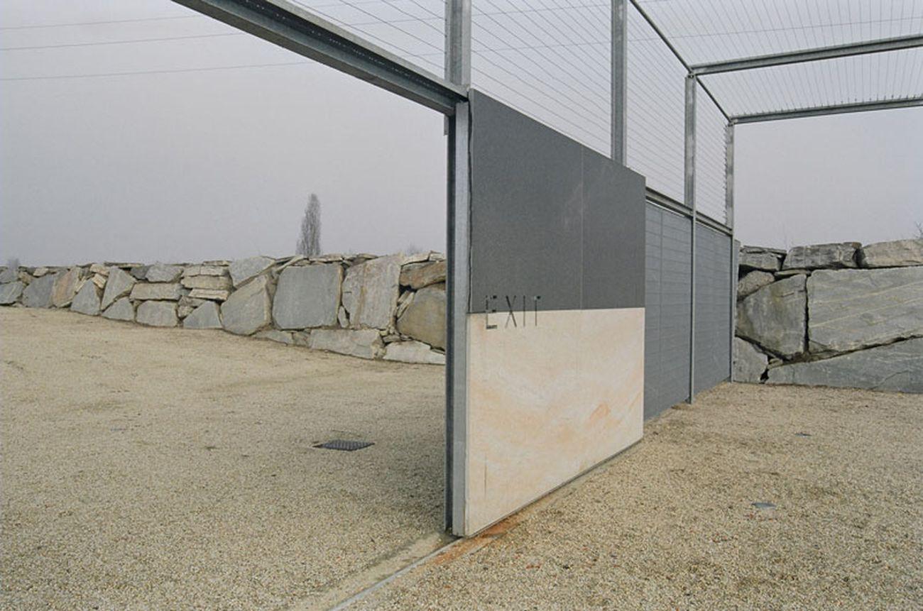 ElasticoSpA+3, Ampliamento del Cimitero di Borgaretto, 2006. Photo Betta Crovato