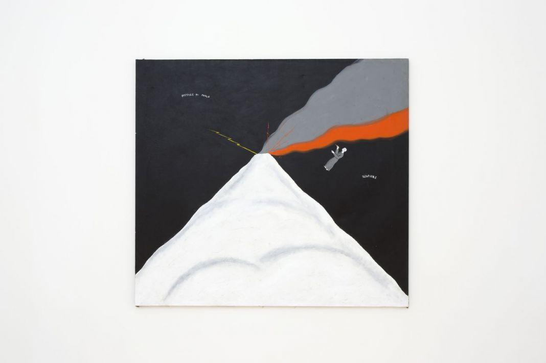 Ernesto Tatafiore, Pittore di fuoco, 1985. Madre, Napoli. Courtesy Fondazione Donnaregina per le arti contemporanee, Napoli. Photo © Amedeo Benestante