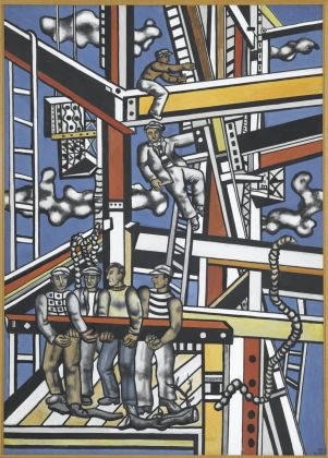 Fernand Léger, Les Constructeurs (état définitif), 1950. Musée national Fernand Léger, Biot © Photo RMN-Grand Palais (Musée Fernand Léger)_Gérard Blot © Adagp, Paris 2017