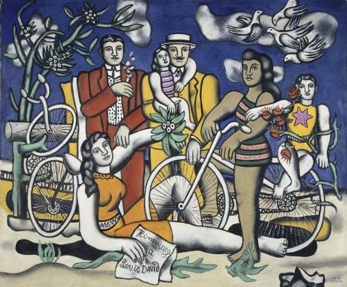 Fernand Léger, Les Loisirs Hommage à Louis David, 1948 49. Collection Centre Pompidou, Paris © Centre Pompidou, MNAM CCI_Jean François Tomasian_Dist. RMN GP © Sabam, 2017