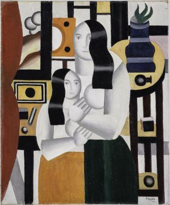 Fernand Léger, Les deux femmes debout, 1922. Collection Centre Pompidou, Paris © Centre Pompidou, MNAM CCI_Christian Bahier et Philippe Migeat_Dist. RMN GP © Sabam, 2017