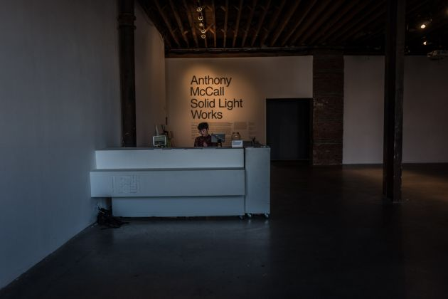 Anthony McCall, Solid Light Works, 2018, ph. Francesca Magnani