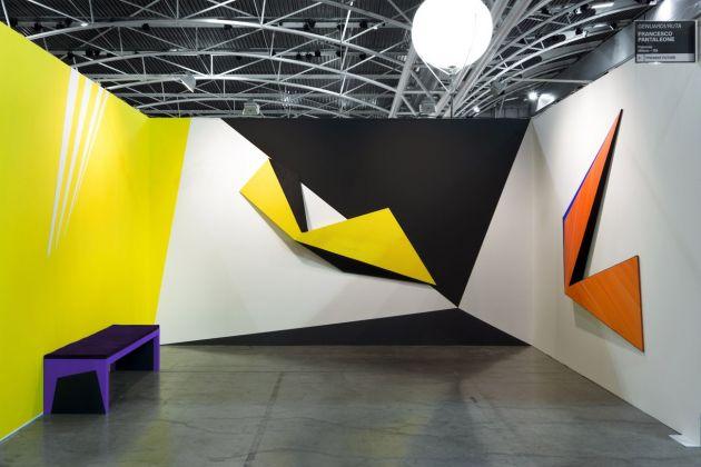 GenuardiRuta. Cielo senza nuvole. Exhibition view at Artissima Art Fair, Torino 2017. Francesco Pantaleone Arte Contemporanea, Palermo