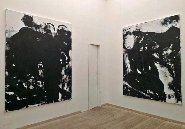 Gianni Dessì. Sestante. Installation view at Otto Gallery, Bologna 2018