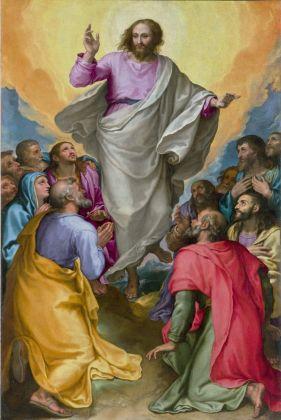 Girolamo Muziano, Ascensione di Cristo, 1582-84. Roma, Chiesa di Santa Maria in Vallicella