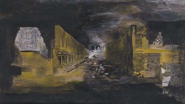 Graham Sutherland, Devastation. An East End Street, 1941. Tate