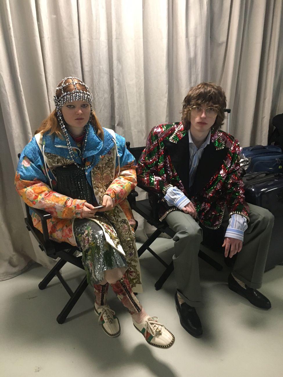 2b721968a7 Gucci. Collezione autunno:inverno 2018 2019. Cyborg. Backstage