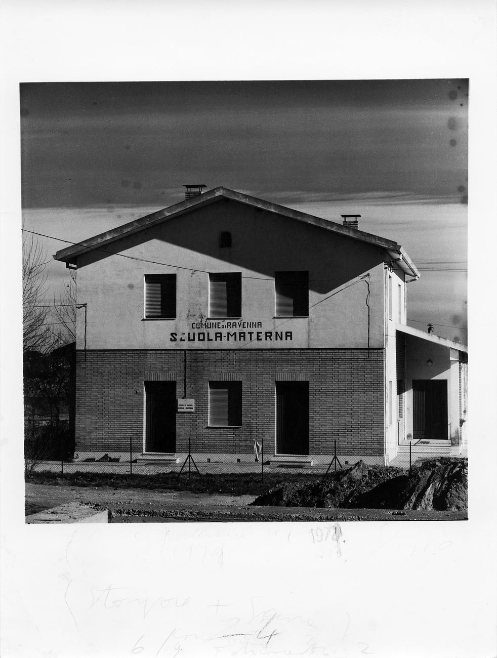 Guido Guidi, Fosso Ghiaia, Ravenna, 1972