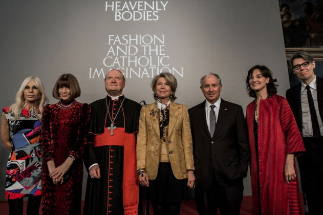 Alcune immagini dalla presentazione di Heavenly Bodies a Roma. ph. Alejandro Otero