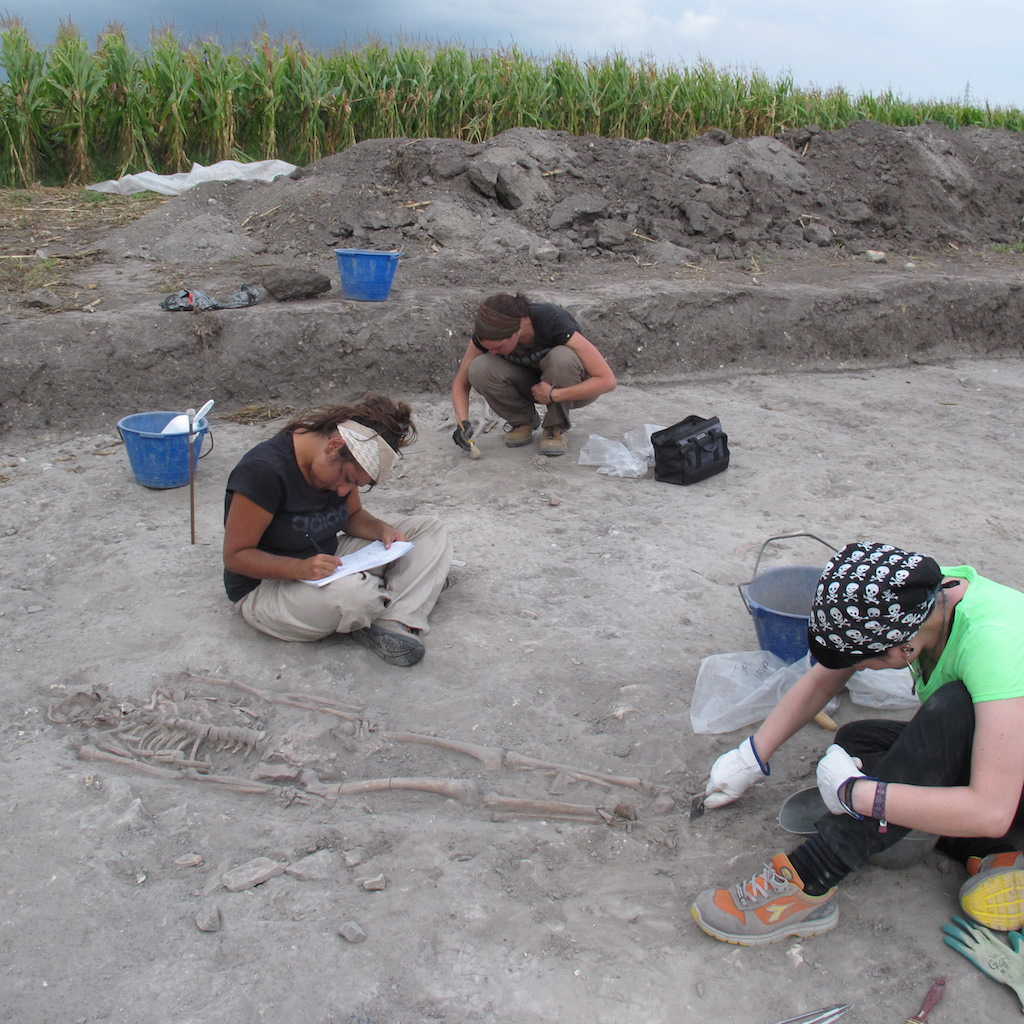 Archeologi al lavoro a Jesolo