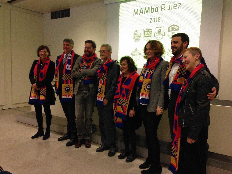 Presentazione programma MAMbo: Lorenzo Balbi con la sua squadra