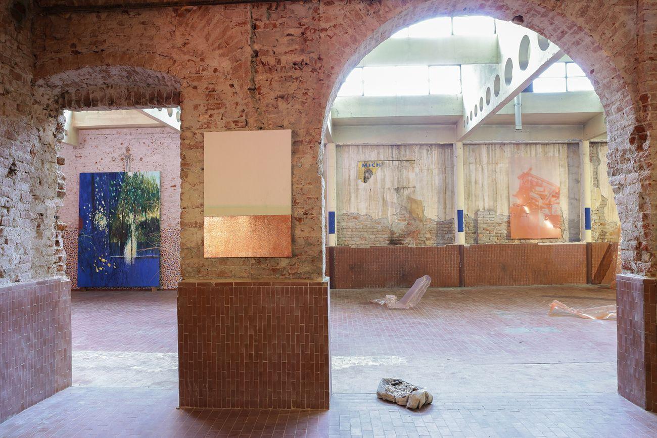 Il paradigma di Kuhn. Exhibition view at Studio02, Cremona 2018