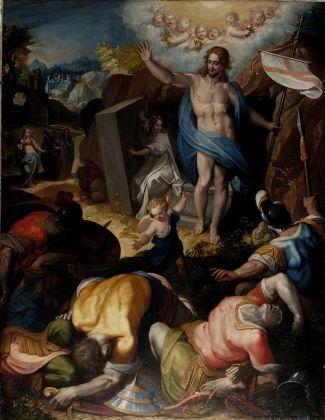 Jacopo Zucchi, Resurrezione, 1562 ca. San Lorenzo Nuovo (VT), Chiesa di San Lorenzo Martire
