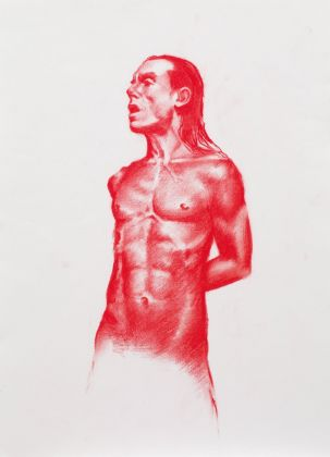 Jeremy Deller, Iggy Pop Life Drawing Class, 2006-11. Courtesy the artist and MoRE Museum