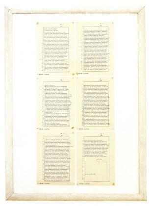 Joseph Beuys, Alcune richieste e domande sul Palazzo nella testa umana, 1981. Collezione Teresa e Michele Bonuomo, Milano