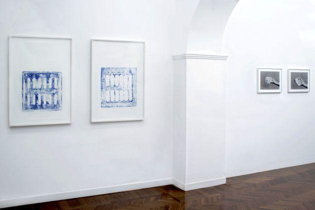 Katinka Bock & Batia Suter. Flava ‒ Solo annacquato. Installation view at Colli Independent Art Gallery, Roma 2018
