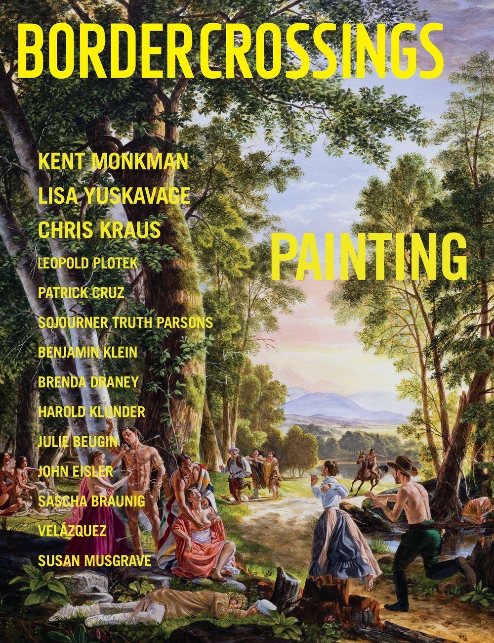 Kent Monkman sulla copertina di Border Crossings