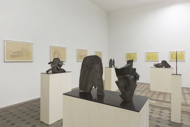Kiki Smith. Quest. Installation view at Galleria Raffaella Cortese, Milano 2018. Courtesy the artist & Galleria Raffaella Cortese, Milano. Photo credit Lorenzo Palmieri