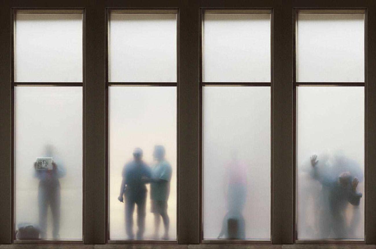 Krzysztof Wodiczko, If You See Something…, 2005