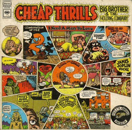 Lato A dell'album Cheap Thrills dei Big Brother and The Holding Company, 1968