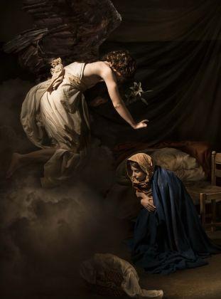 Leonardo Baldini, Annunciazione di Caravaggio © Stranemani International