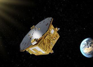 Lisa Pathfinder, precursore tecnologico dell'osservatorio spaziale di onde gravitazionali ©ASI