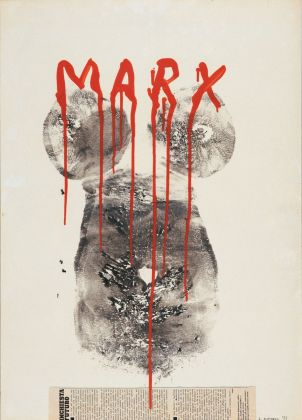 Lucia Marcucci, Marx, 1977. Courtesy Frittelli Arte Contemporanea, Firenze