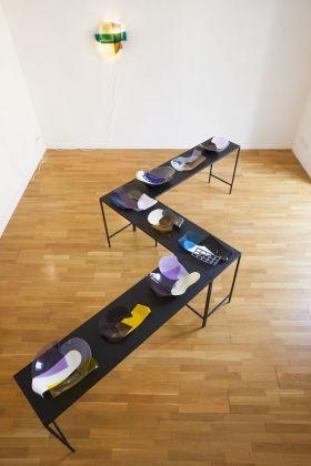 Lucia Massari. Strata. Exhibition view at SWING Design Gallery, Benevento 2018. Photo Pasquale Palmieri