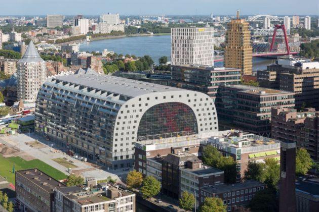 MVRDV, Rotterdam Markthal, Rotterdam, Paesi Bassi. Photo © Ossip van Duivenbode