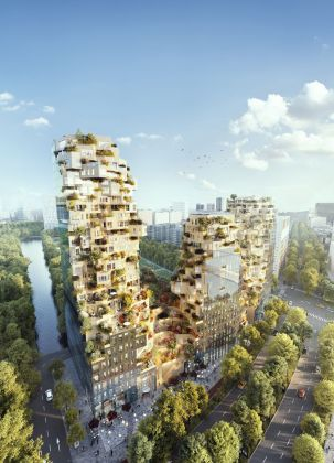 MVRDV, Valley, Amsterdam, Paesi Bassi. Render by Vero Visuals, Rotterdam, The Netherlands. Courtesy MVRDV
