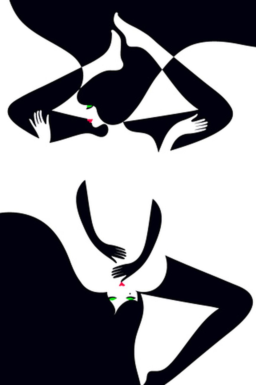 Le illustrazioni miminal e sexy di malika favre artribune for Love in design