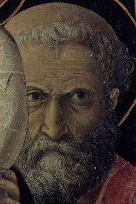 Andrea Mantegna, Presentazione di Gesù al Tempio, particolare