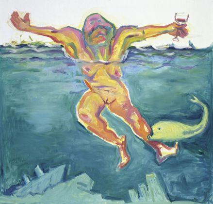 Maria Lassnig, Die Lebensqualität, 2001 © Maria Lassnig Stiftung
