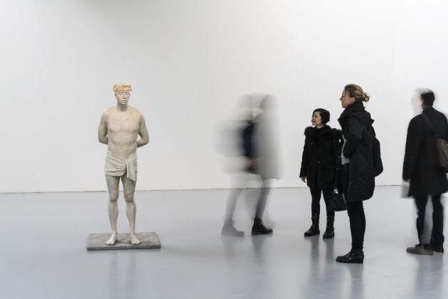 Mark Wallinger Mark. Exhibition view at Centro Pecci, Prato 2018. Photo Ela Bialkowska OKNOstudio