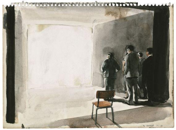Michaël Borremans, Milk, 2003