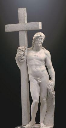 Michelangelo, Cristo risorto Giustiniani, 1515 ca. Monastero San Vincenzo martire, Bassano Romano