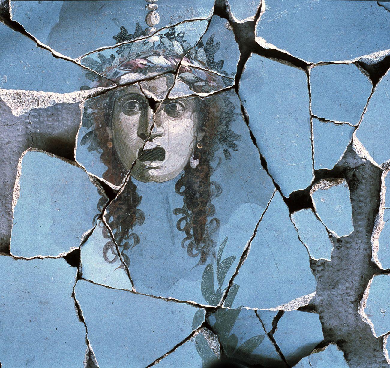 Mimmo Jodice, Gorgoneion, Opera I, 1982. Courtesy l'artista © Mimmo Jodice