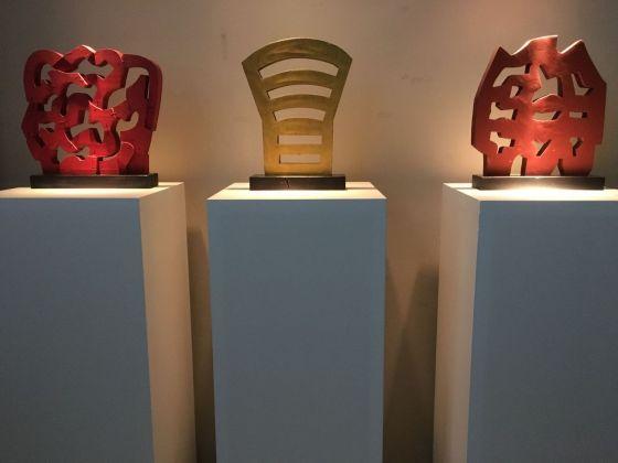 Modelli di sculture di Pietro Consagra. Photo Francesco Lisciandra