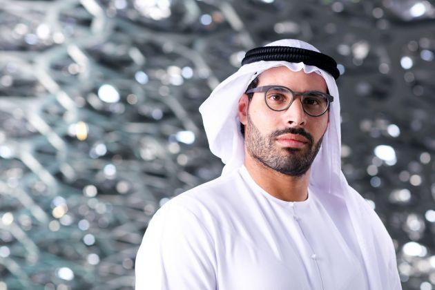 Mohammed Al Mubarak . Chairman - DCT © Louvre Abu Dhabi Mohamed Somji