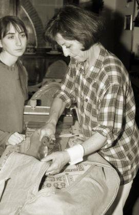 Moira Ricci, Mamma stira, 2004 - Collezione Donata Pizzi